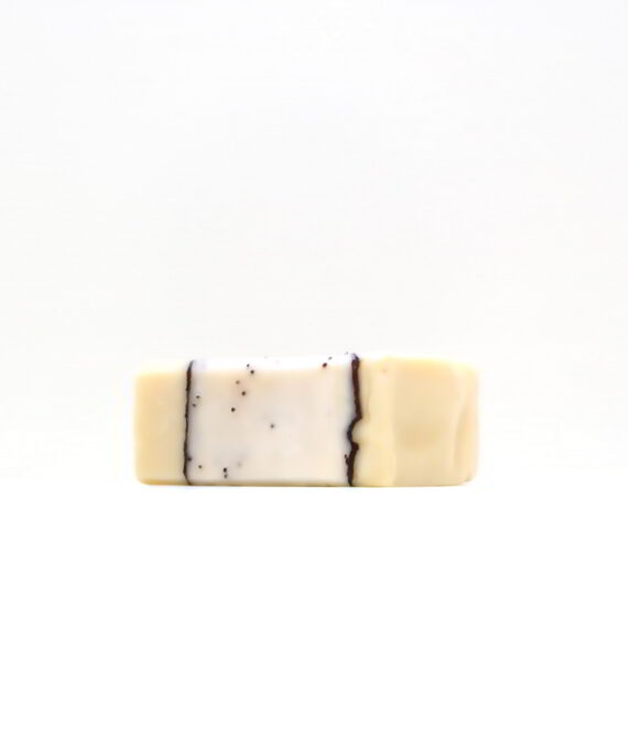Poppy Love Soap Bar Left Side