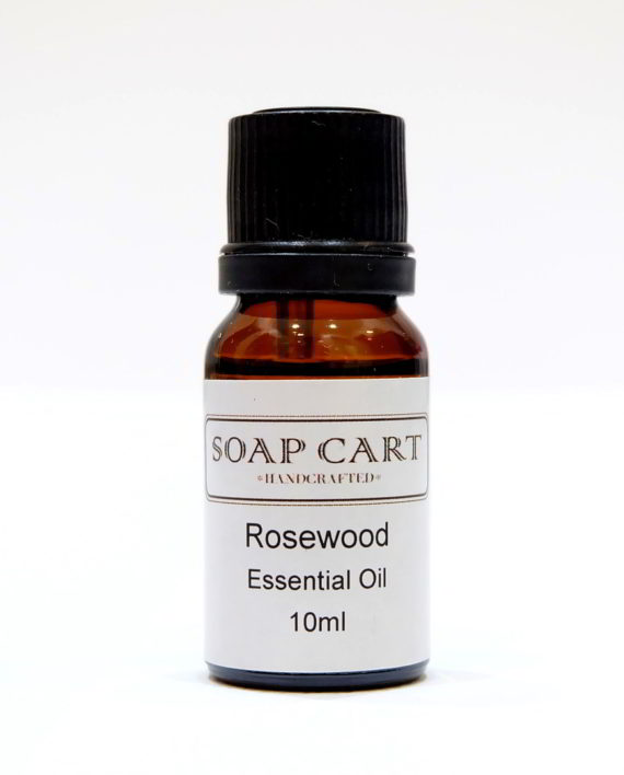 Rosewood Essential Oil ~ Rosewood essential oil soap cart