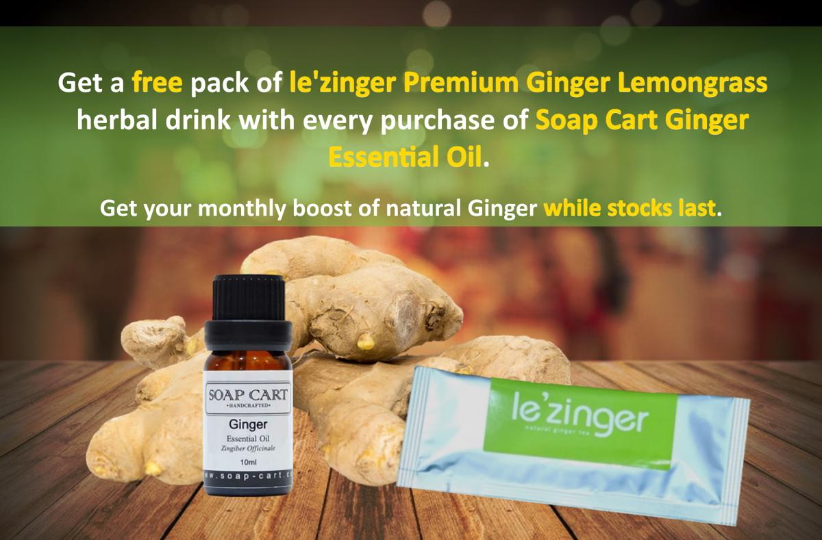 Ginger Oil n lezinger promo