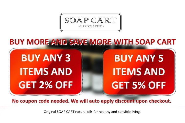 Soap Cart Bundle discounts 2020